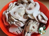 Цуккини с грибами и рисом ингредиенты