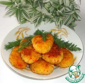 Рецепт Постные котлеты из пшена с овощами