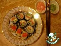 Японские роллы в домашних условиях ингредиенты