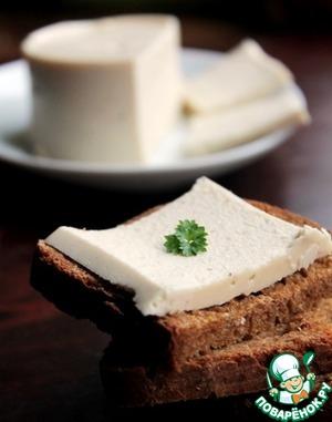 Сыр из кешью и чечевицы