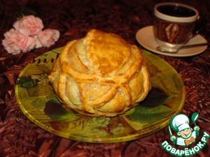 Рецепт Камамбер с грушей и имбирем в клюквенном соусе