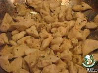 Паста с курицей и опятами ингредиенты