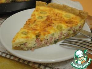 Рецепт Французская пицца