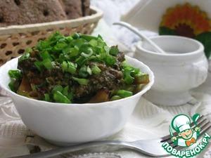 Рецепт Кабачки в ореховом соусе