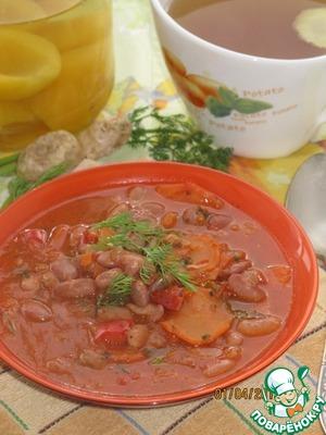 Рецепт Фасолада-постный Греческий суп