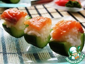 Рецепт Закуска в стиле суши