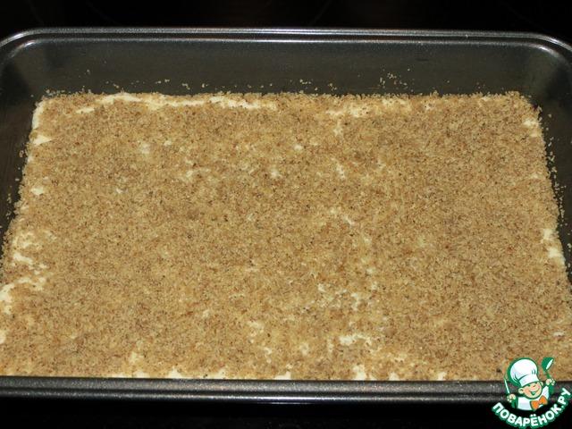 Постная пахлава вкусный рецепт приготовления с фото #4