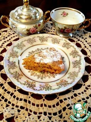 Рецепт Постный апельсиново-лимонный пирог