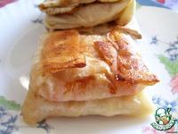 Пирожки из лаваша с яблоками ингредиенты
