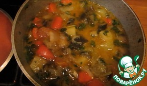 Рецепт Аджапсандали (овощное рагу)