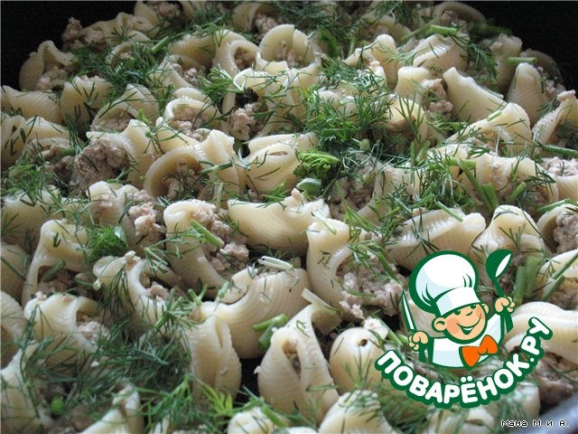"""Запеченные """"Ракушки"""" домашний рецепт приготовления с фото пошагово #7"""