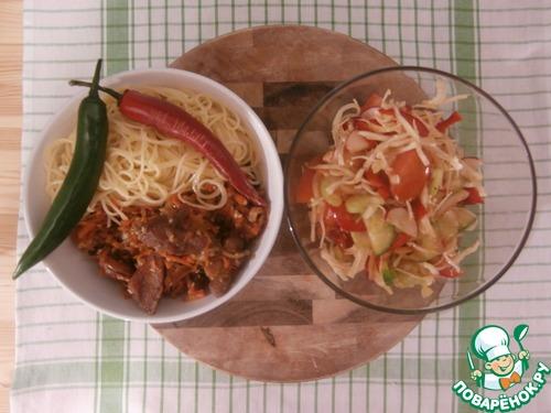 Как приготовить вкусное овощное рагу с говядиной
