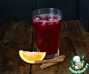 Рецепт Домашний лимонад с черной смородиной