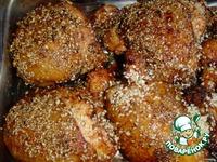 Цыпленок в кунжуте ингредиенты