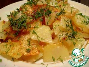 Рецепт Жареная картошка в мультиварке
