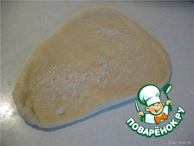 Как приготовить простой рецепт приготовления с фото Рогалики сдобные #1