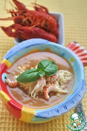 Рецепт Суп из раков
