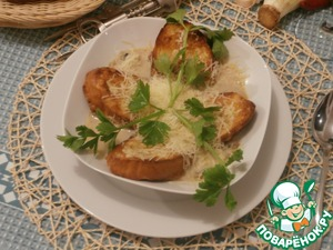 Рецепт Ароматный весенний суп
