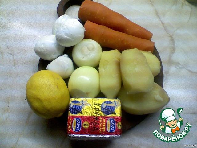 """Готовим Салат """"Аленушка"""" домашний пошаговый рецепт приготовления с фотографиями #1"""