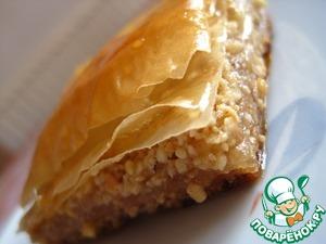 Пахлава (Baklava) простой пошаговый рецепт приготовления с фотографиями как приготовить