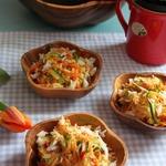 Рис с острыми овощами в кокосовом молоке