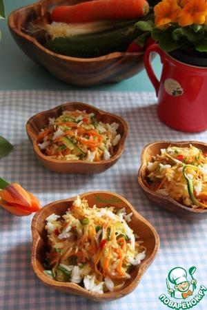 Рецепт Рис с острыми овощами в кокосовом молоке