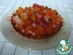 Рецепт Постные корзиночки с фруктами
