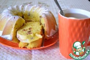 Рецепт Кукурузный кекс с финиками
