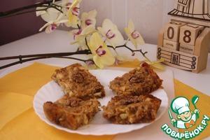 Рецепт Постные яблочные пирожные с финиками