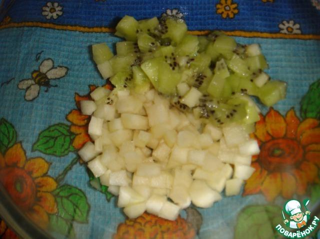 Постный тарталетки с фруктами рецепт