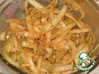 Домашний «Шашлык из печени» ингредиенты