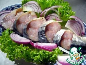 Рецепт Маринование салаки, селедки, скумбрии, тюльки