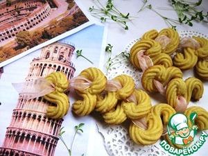 Рецепт Итальянское печенье с полентой