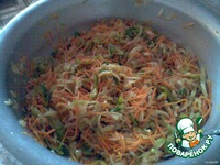 """Салат """"Корейцы отдыхают"""" (овощи по-корейски) ингредиенты"""