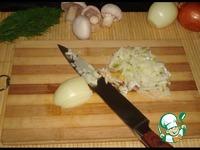 Окорочок фаршированный картофелем и грибами ингредиенты
