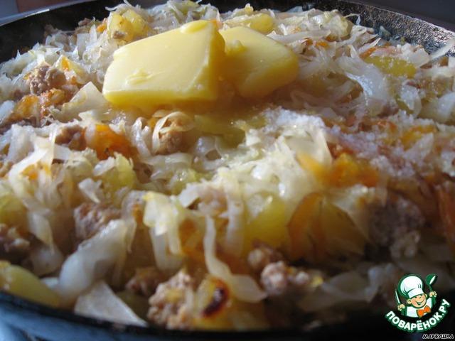 рагу с фаршем овощами рецепт с фото