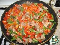 Мясо тушенное с овощами ингредиенты