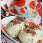 Рисовое итальянское мороженое
