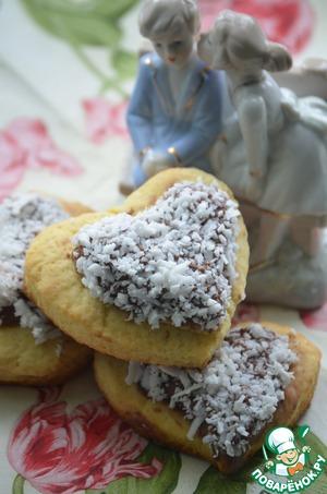 Рецепт Печенье с нутеллой