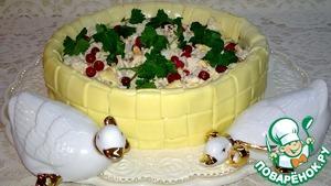 Рецепт Лукошко с салатом