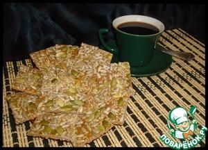 Рецепт Печенье с отрубями и семенами