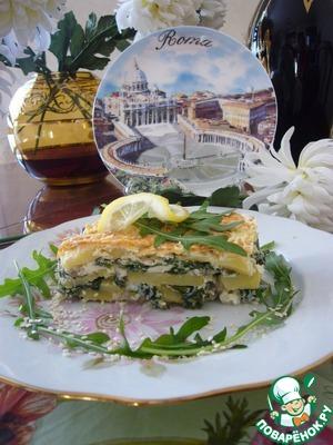 Рецепт Запеканка с рыбой под сливочно-сырной корочкой