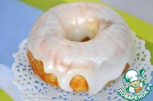Рецепт Лимонные кексы в сахарной глазури