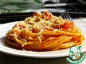 Рецепт Спагетти с соусом маринара