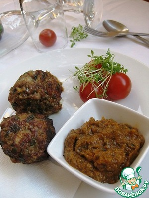 Рецепт Жареные фрикадельки с томатным соусом