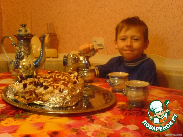 """Готовим Торт """"Валентинов день"""" простой рецепт приготовления с фотографиями #8"""