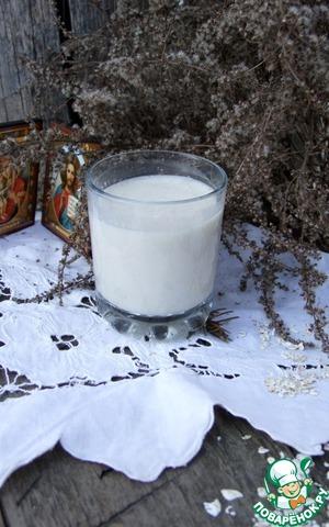 Рецепт: Полезное овсяное молоко