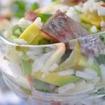 Салат с сельдью а-ля Табаков