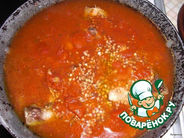 молочно томатный соус для гречки