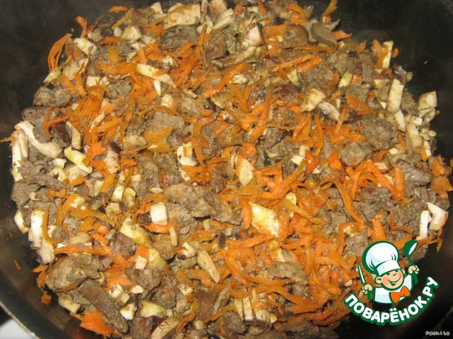 рецепт приготовления картошки с печенью